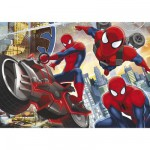 Puzzle 24 pièces maxi : Ultimate Spiderman en action