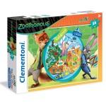 Puzzle 24 pièces Maxi : Zootopie