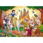 Puzzle 250 pièces - Blanche Neige : Départ pour le château