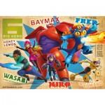 Puzzle 250 pièces : Big Hero 6 Les nouveaux héros