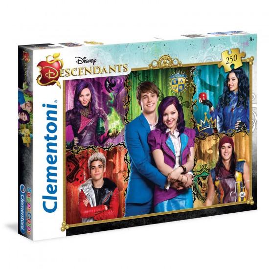 Puzzle 250 pièces : Descendants - Clementoni-29725