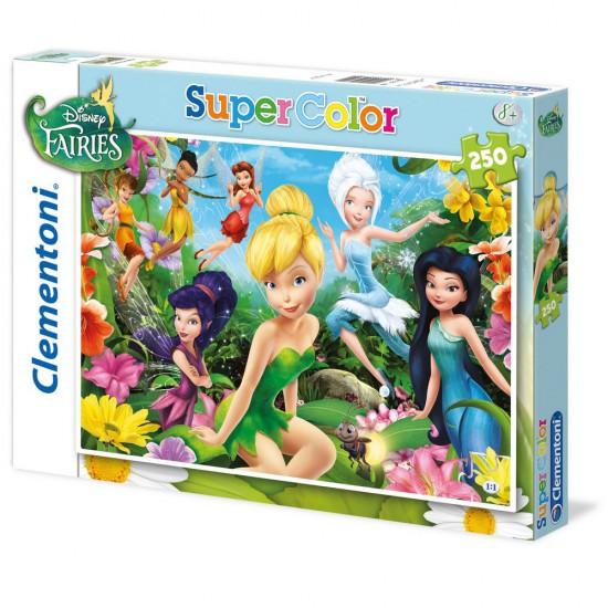 Puzzle 250 pièces : Disney Fairies - Clementoni-29700