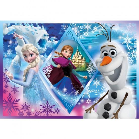 Puzzle 250 pièces : La Reine des Neiges Frozen - Clementoni-29711