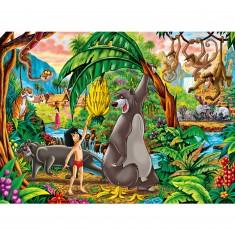 Puzzle 250 pièces : Le Livre de la Jungle