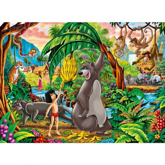 Puzzle 250 pièces : Le Livre de la Jungle - Clementoni-29713