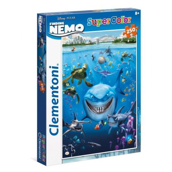 Puzzle 250 pièces : Le monde de Nemo - Clementoni-29717
