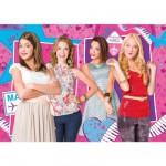 Puzzle 250 pièces : Violetta : Entre filles
