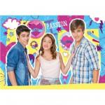 Puzzle 250 pièces : Violetta, Tomas et Leon