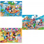 Puzzle 3 x 48 pièces - Mickey et ses amis : Plus on est de fous ...