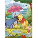 Puzzle 3 x 48 pièces - Winnie l'ourson