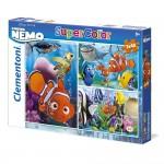 Puzzle 3 x 48 pièces : Le monde de Nemo
