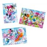Puzzle 3 x 48 pièces : Minnie Sport