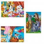 Puzzle 3 x 48 pièces pièces : Les classiques Disney