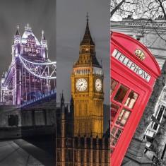 Puzzle 3 x 500 pièces : Triptyque : Londres