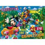 Puzzle 104 pièces - Effet 3D : Mickey et ses amis