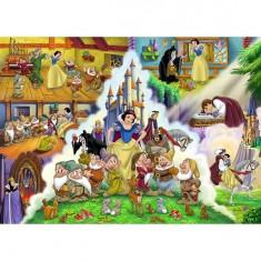 Puzzle 40 pièces - Puzzle de sol - Princesses Disney : L'histoire de Blanche-Neige