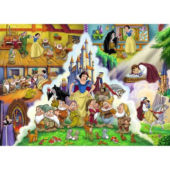 Puzzle 40 pièces - Puzzle de sol - Princesses Disney : L'histoire de Blanche-Neige - Clementoni-25428