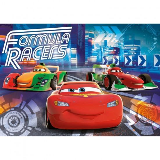 Puzzle 40 pièces : Floor : Cars - Clementoni-25442