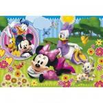 Puzzle 40 pièces : Puzzle de sol Minnie et Daisy en plein rêve