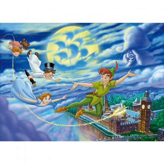 Puzzle 40 pièces : Puzzle de sol Peter Pan - Clementoni-25440