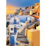 Puzzle 500 pièces - Grèce : Village de Oia