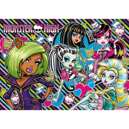 Puzzle 500 pièces - Monster High : Les filles - Clementoni-30120