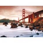 Puzzle 500 pièces - San Francisco : Au pied du Golden Gate