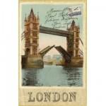 Puzzle 500 pièces : Carte postale Tower Bridge