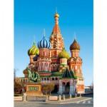 Puzzle 500 pièces : Cathédrale Saint-Basile, Moscou