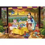 Puzzle 500 pièces : Daisy et Donald au restaurant