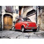 Puzzle 500 pièces : Fiat 500