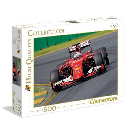 Puzzle 500 pièces : Formule 1 - Clementoni-35017