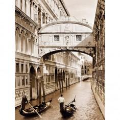 Puzzle 500 pièces : Le Pont des Soupirs, Venise