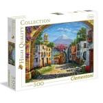 Puzzle 500 pièces : Le Volcan