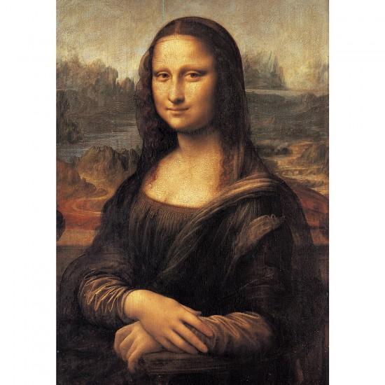 Puzzle 500 pièces : Mona Lisa - Clementoni-30363