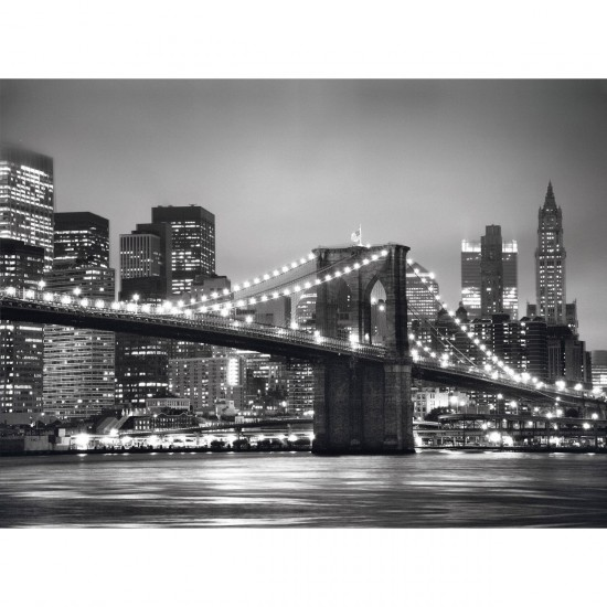 Puzzle 500 pièces : New York - Clementoni-30169