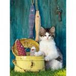 Puzzle 500 pièces : Petit chat
