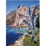 Puzzle 500 pièces : Riomaggiore, Italie