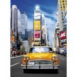 Puzzle 500 pièces : Taxi à Times Square