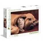 Puzzle 500 pièces : Tendresse animale