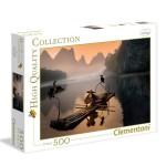Puzzle 500 pièces : Vieux pêcheur
