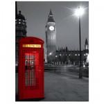 Puzzle 500 pièces - Cabine téléphonique londonnienne