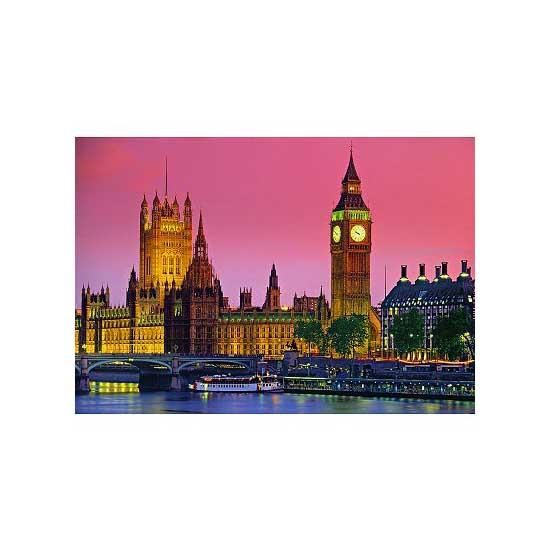 Puzzle 500 pièces - Londres de nuit - Clementoni-30378