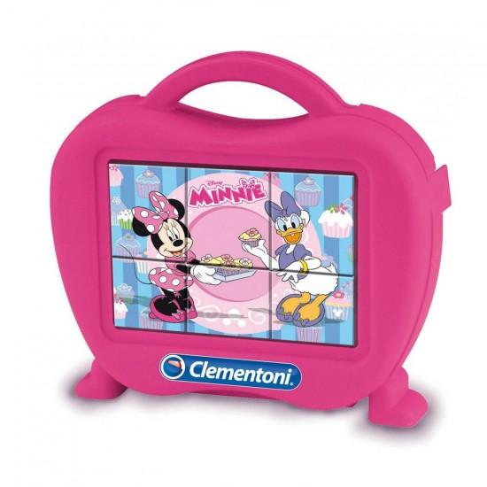 Puzzle 6 cubes Disney : Minnie et Daisy - Clementoni-40600-40653