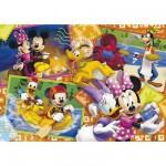 Puzzle 60 pièces - Mickey et ses amis : Cartes postales