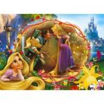 Puzzle 60 pièces - Raiponce : Raiponce et son prince