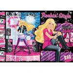 Puzzle 60 pièces : Barbie : Rockin'Style