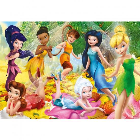 Puzzle 60 pièces : Disney Fairies - Clementoni-26921