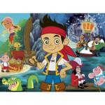 Puzzle 60 pièces : Jake et les pirates du pays imaginaire