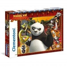 Puzzle 60 pièces : Kung Fu Panda